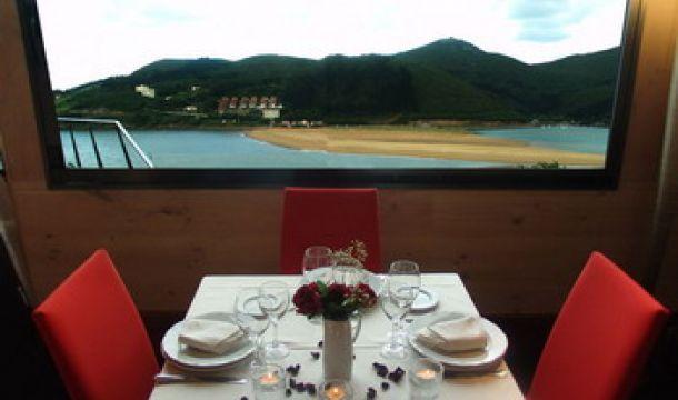 Vistas a Laida desde el restaurante Portuondo