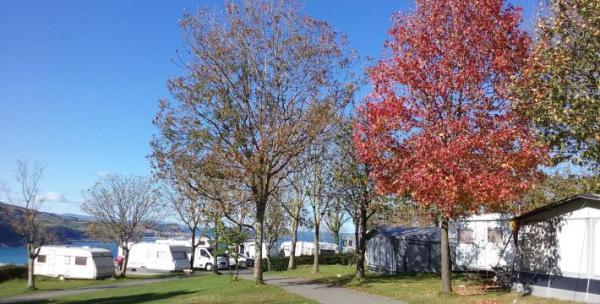 campingplatz gran camping zarautz von zarautz, gipuzkoa, spanien